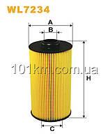 Фильтр масляный WIX WL7234 (OE649/3)