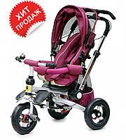 Детский велосипед Baby trike CT-30 фиолетовый