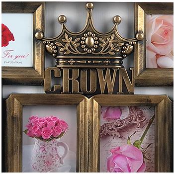 Мультирамка с короной на 6 фотографий Crown, фото 2