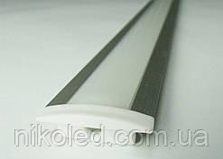 Профиль врезной для светодиодной ленты 17(25)*6*1000 мм