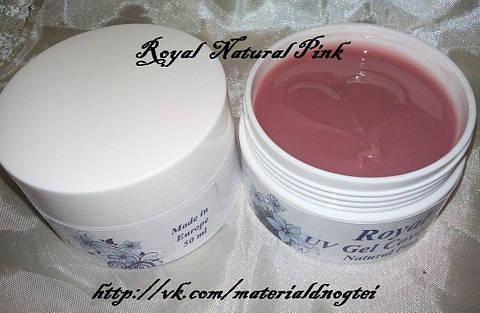 """Камуфлирующий гель """"Royal"""" USA Natural Pink."""