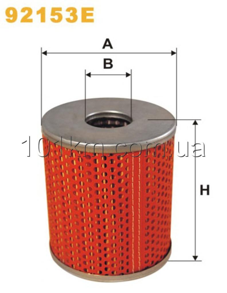 Фильтр масляный WIX 92153E (OM659/2)