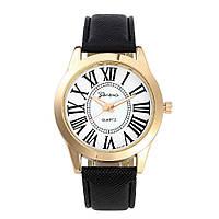 Часы кварцевые  Roma gold black