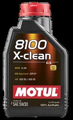 Масла моторные 8100 X-CLEAN 5W-30