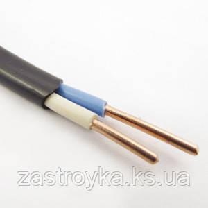 Провод ВВГнг черный 2х4,0 кв.мм (Энерго)  только бухтами!