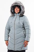 Теплая водоотталкивающая куртка с капюшоном 52,54,56,58,60,62