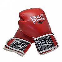 Перчатки боксерские Everlast 10 унций жесткие (красные)