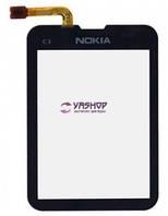 Сенсор (тачскрин) Nokia C3-01 черный