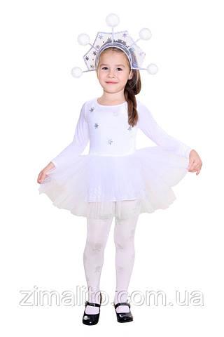 Снежинка карнавальный костюм детский