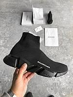 Кроссовки Balenciaga Sock Triple black Trainer. Топ качество. Живое фото (Реплика ААА+)