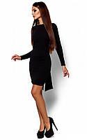 Вечірнє чорне плаття з відкритою спиною Amarino (S, M)