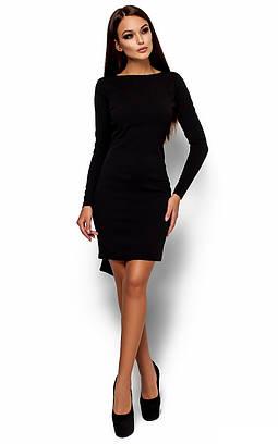 Вечірнє чорне плаття з відкритою спиною Amarino
