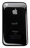 Задняя крышка (панель) iPhone 3G black 16GB (оригинал)