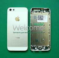 Задняя крышка (панель) iPhone 5S white без IMEI