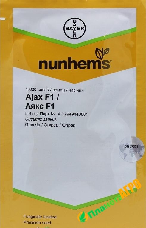 Семена огурца Аякс F1, 1000 семян, Nunhems , Голландия