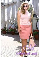 Женская красивая юбка большого размера (р. 48-90) арт. Рокси