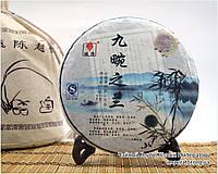 """Китайский зелёный чай - Шен пуэр """"Джиуван Ци Лан"""",2011 год, фото 1"""