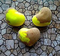 Бомбочка/гейзер для ванны Сердце (Шоколад-банан)