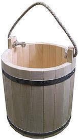 Ведро деревянное 12 л термолипа