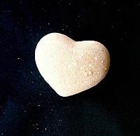 Бомбочка/гейзер для ванны Сердце (Амаретто)