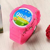 Детские умные часы сенсорные Lemado Smart Kid Watch V12 pink Водонепроницаемые