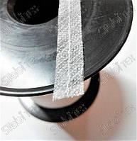 Долевик нитепрошивной белый 12мм c цепным стежком