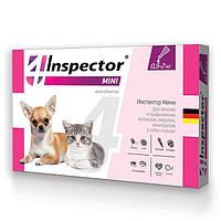 Капли Inspector от 14 внеш. и внутр. паразитов для собак 0,5 до 2 кг