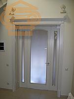 Трехстворчатый дверной блок
