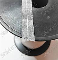 Долевик  белый и серый 12мм c цепным стежком