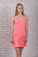 Ночная рубашка женская розовая