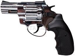"""Револьвер флобера STALKER 4 мм 2,5"""" никель,черн. рук."""