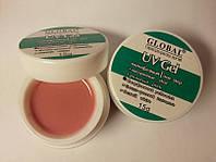 Гель Global UV Gel Yellowish Pink 15 мл камуфлирующий розовый