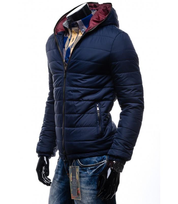 Куртка дутая приталенная