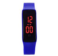 Часы наручные светодиодные LEDwatch klein deep blue