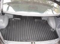 Коврик багажника (корыто)-полиуретановый, черный Nissan Almera N16 (ниссан альмера) 2000-2005