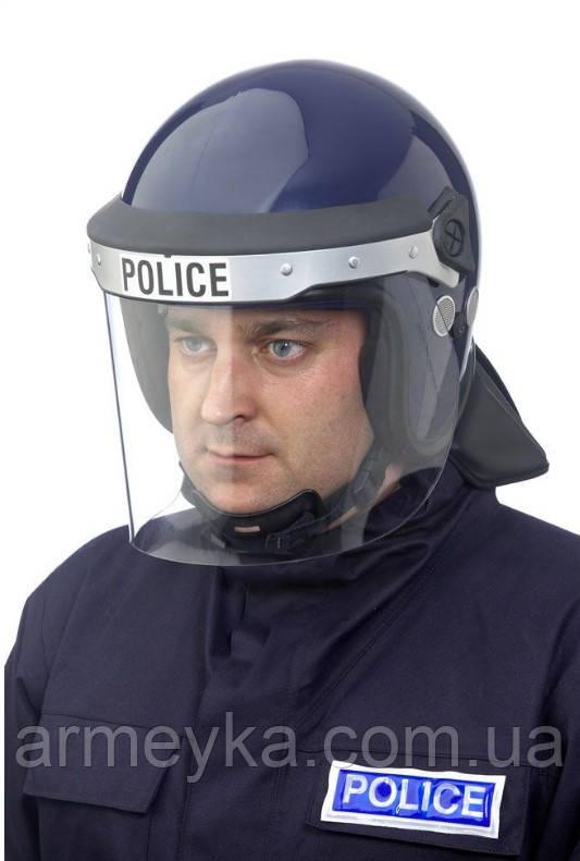 Противоударный защитный шлем с забралом Argus APH05 (синий). Police Великобритании, оригинал.