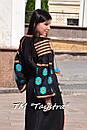 Вышитое платье  бохо вышиванка лен, этно, бохо-стиль, черное платье, Bohemian,Платье макси, стиль Вита Кин, фото 7