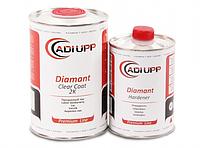 Двухкомпонентный прозрачный акриловый лак с низким содержанием летучих веществ Adi Upp Diamant HS