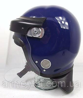 Противоударный защитный шлем с забралом Guardian mk2/mk3 (синий). Police Великобритании, оригинал.