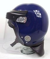 Противоударный защитный шлем с забралом Guardian mk3 (синий). Police Великобритании, оригинал.