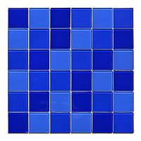 Мозаика стеклянная Cristal Dark blue