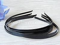 Обруч для волос металлический черный, 0,45 см., фото 1