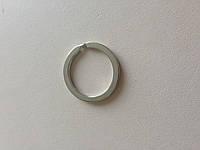 Кольцо ключное плоское, внутренний диаметр 20 мм, толщина 1,8 мм, цвет - никель, артикул СК 5168