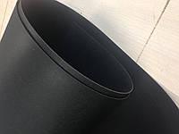 Пластик листовой длинна 100 см., ширина 40 см. толщина 1 мм, черного цвета, арт. СК 5171