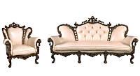 Изысканный набор классической мебели Изабелла (3+1)