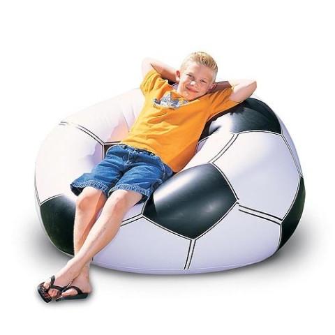 """Надувное кресло футбольный мяч, football chair - """"ВЦене"""" - Товары и услуги в Днепре"""