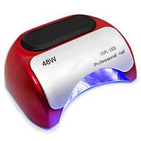 Гибридная CCFL+LED лампа на 48 Ват (красная)