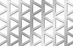 Лист с треугольными отверстиями