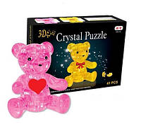 3D пазл Crystal Puzzle — Медведь