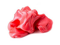 Жвачка для рук Вишня 80г, Хендгам, Silly Putty (Handgum), умный пластилин